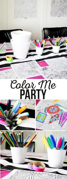 Coloring Party! Perf