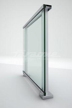 Baranda en aluminio y vidrio MAIOR COLORS ONE by FARAONE