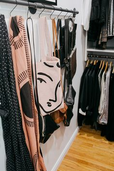 finally, a grown up closet.
