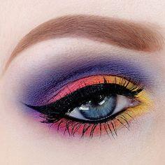 Colorful makeup          @ nicola_kate