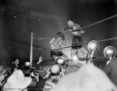Joe Louis stopped Abe Simon in the round in the last World Heavyweight Championship fight scheduled for 20 rounds. Olympia Stadium, Tiger Stadium, Wayne State University, World Heavyweight Championship, Joe Louis, Basketball Photos, Detroit Free Press, Detroit News, Political Events