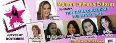 Mujeres Latinas y Exitosas Hangouts en Vivo - Wasanga 100%