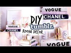 Fall DIY Tumblr Room Decor! Cozy Fall Nightstand! - YouTube