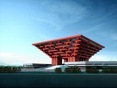 The China Pavilion - Chinese Wisdom in Urban Development, Shanghai, 2010