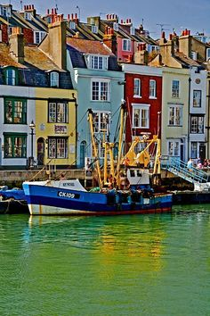 Trawler in Weymouth harbour, England Weymouth Harbour, Weymouth Dorset, England And Scotland, England Uk, Dorset England, Places Around The World, Around The Worlds, Visit Uk, Jurassic Coast