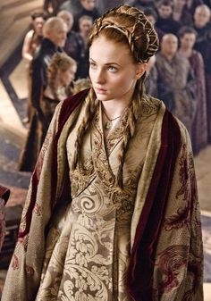 What Sansa wore for her wedding with Tyrion Lannister