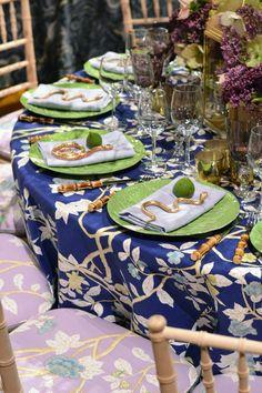 Table setting at the 2015 Lenox Hill Neighborhood House Gala
