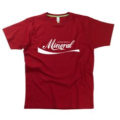 Enjoy A Mineral Gent's t-shirts from HairyBaby.com