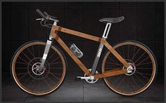 BKR Ecoframe Bike - Carbon fiber bikes are all the rage these days, but less processed materials like wood are certainly able to do the job. The BKR Ecoframe Bicycle might not be as lightweight or as strong as the crystalline chemical, but it would more than satisfy the needs of its rider.