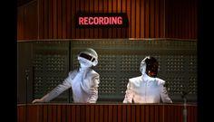 Daft Punk y Stevie Wonder hicieron gozar a todas las estrellas con su éxito 'Get Lucky'. (Foto: Getty Images)