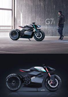 anssi mustonen bmw scrambler concept e amp ice kombi plattform Concept Motorcycles, Cool Motorcycles, Vintage Motorcycles, Futuristic Motorcycle, Futuristic Cars, Futuristic Design, Bmw Cafe Racer, Moto Bike, Motorcycle Bike