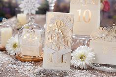 唯思美2015新款西式浪漫城堡喜帖欧式银色请柬结婚礼邀请函定制-tmall.com天猫