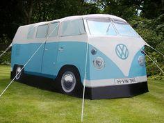 Leirintäalueen makein teltta!