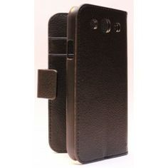 Galaxy S3 musta lompakkokotelo. Samsung Galaxy S3