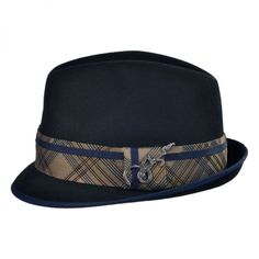 Carlos Santana Regal Fedora Hat Sombreros De Ala bb13ae353de6
