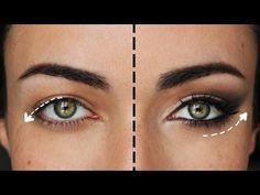 Hooded eye makeup tutorial for hooded eyes and crepey eyelids. Step-by-step instructions for makeup over 50 to teach you how to lift and flatter droopy eyelids. Makeup Tricks, Eye Makeup Tips, Smokey Eye Makeup, Skin Makeup, Eyeliner Makeup, Makeup Tutorials, Makeup Ideas, Makeup Designs, Makeup Kit