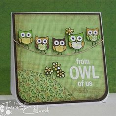 Owl Of Us...  CLICK► http://www.scrapbooking247.com/owl-of-us/