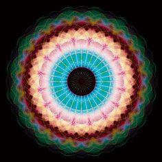wow i am really liking the colors of this today.  andy gilmore / Sacred Geometry <3