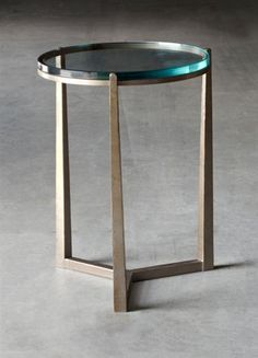 Cooper Drink Table - Hand made in USA by Charleston Forge, Boone NC. http://www.charlestonforge.com/drink_tables.htm