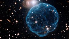 The elegant beauty of this planetary nebula was discovered by an amateur astronomer and captured by the Gemini Observatory.