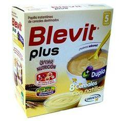 BLEVIT Plus Duplo 8 Cereales con Natilla 600gr.