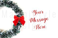 Holiday Christmas Styled Stock Photography by MariniStyleDesigns