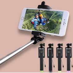 Cheap stick tennis, Buy Quality stick doll directly from China stick audio Suppliers: Universal Selfie Stick For Android Monopod Wired Mini Palo Selfie For iPhone Samsung Galaxy Xiaomi Huawei Lenovo Meizu Phone Selfies, Sony, Huawei Phones, Android, Pink Accessories, Cell Phone Holder, Selfie Stick, Samsung Galaxy S4, Cool Things To Buy