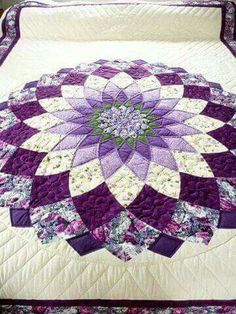 Shades of purple quilt