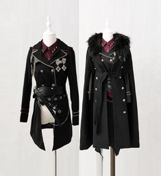 LolitaWardtobe - Bring You the latest Lolita dresses, coats, shoes, bags etc from Trustworthy Taobao indie Brands. We never resell Lolita items from untrustworthy Taobao stores. Pretty Outfits, Cool Outfits, Fashion Outfits, Fashion Trends, Cosplay Outfits, Anime Outfits, Character Outfits, Lolita Dress, Military Fashion