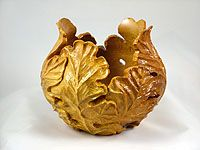 Carved Oak Leaf