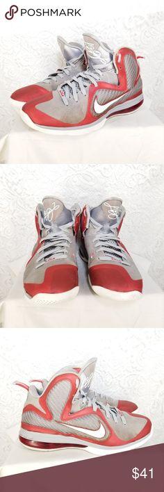 watch 67443 a81dc Nike Men s LeBron James Basketball Shoes Sz 10 B47 Size 10 Nike Lebron 9 Ohio  State