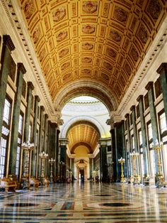 Hall of Lost Steps, Capitolio Nacional, Havana