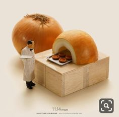 Bigger doesn't always mean better, as Japanese artist Tatsuya Tanaka proves with these tiny dioramas that he makes for his ongoing Miniature Calendar project. Miniature Photography, Toys Photography, Abstract Photography, Macro Photography, Creative Photography, Macro Fotografie, Fotografia Macro, Deco Cool, Miniature Calendar