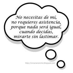 SinSerAnonimo.blogspot.com: Pensamientos 138