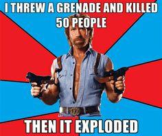 Chuck Norris!