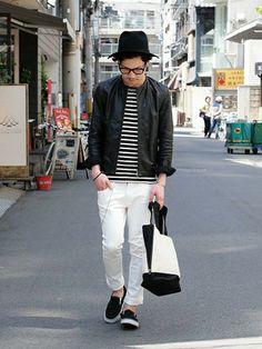 季節感が出て爽やか!メンズも春は白パンツを履きこなそう - NAVER まとめ