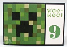 Minecraft Stampin' Up! Style