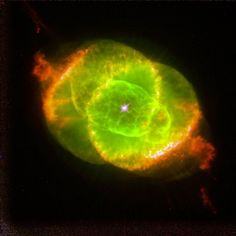 This Hubble Space Telescope image shows one of the most complex planetary nebulae ever seen, NGC nicknamed the 'Cat's Eye Nebula.' Hubble reveals surprisingly intricate structures including concentric gas shells, jets of high-speed gas and unusual s Planetary Nebula, Orion Nebula, Carina Nebula, Helix Nebula, Andromeda Galaxy, Hubble Pictures, Hubble Images, Hubble Space Telescope, Space And Astronomy
