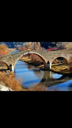 Çataltepe bridge-Constructive: Estimated Seljuk Empire-Year built: Estimated 13th century-Repair: Haji Mustafa son of Ahmet Aga-Repair year: 1900-Uşak