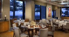 3030 OCEAN: Chef Adrienne Grenier reflects the savory flavor of the ocean into his exquisite dining menu while guests have the pleasure of overlooking the Atlantic inside his chic dinner bistro. Wine Spectator Award Recipient.