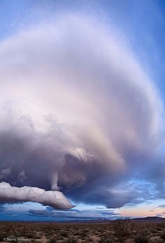 strange cloud formation