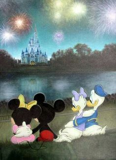 Minnie-Mickey-Donald-Daisy <3