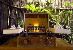 A luggage wash basin at Six Senses Yao Noi, Thailand http://www.sixsenses.com/resorts/yao-noi/destination