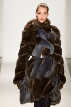 #DennisBasso Fall 2013 Collection- Love this collection of luscious #furs #FashionTV