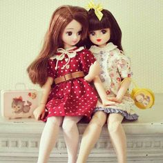 Liccas by paperdolly* via Flickr #doll #licca