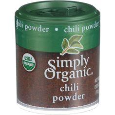 USDA organic. Certified organic by QAI. Ingredients : Organic Chili Powder, Organic Cumin, Organic Oregano, Organic Coriander, Organic Garlic, Silicon Dioxide (an Anti-Caking Agent), Organic Allspice,