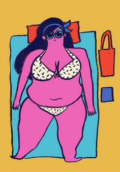 10 Badass Illustrations That Challenge Body Image Issues Women Face Today  - Cosmopolitan.com