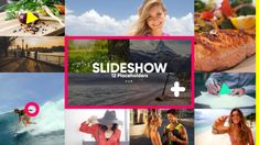 Slideshow Color (Abstract) #Envato #Videohive #aftereffects