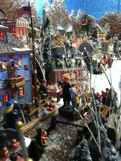 2011 Lemax Christmas display