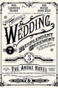 הזמנת חתונה מיוחדת
